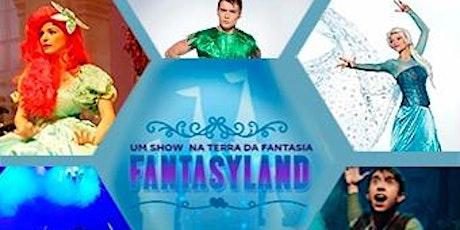 Desconto para espetáculo Fantasy Land no Teatro J. Safra ingressos