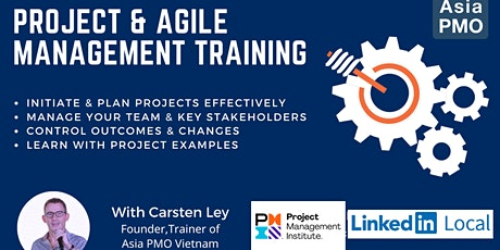 Project & Agile Management Training Online tickets