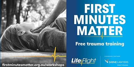 First Minutes Matter: Goondiwindi workshop tickets