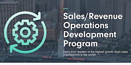SaaSy Revenue Operations Development Program October 2021 tickets