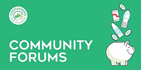 Redlands Community Forum tickets
