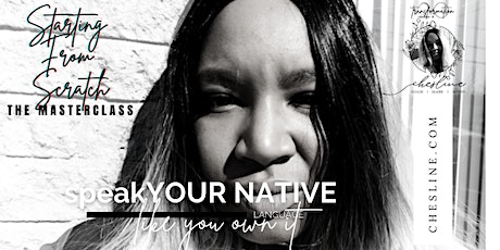 Speak Your Native Language Like You Own It - The Masterclass tickets