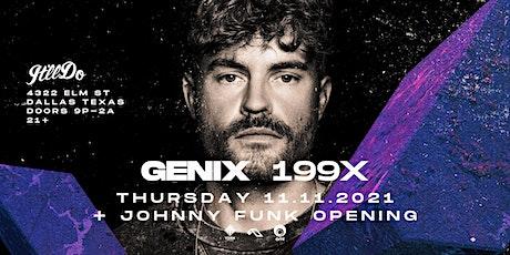 Genix at It'll Do Club tickets