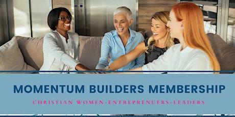 Momentum Builders Membership (Christian Women in Business) Queens, LI,NYC Tickets