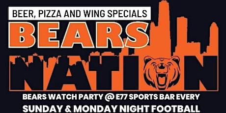 Bears Nation - Chicago Bears Watch Party - Bears VS Minnesota Vikings tickets