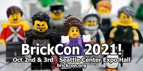 BrickCon Exhibition October 2, October 3, 2021 tickets