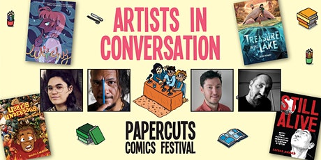 Artists in Conversation (Papercuts Comics Festival 2021 day 3) tickets