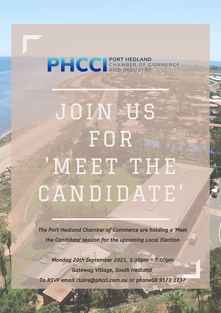 Meet the Candidate - Port Hedland Council Election image