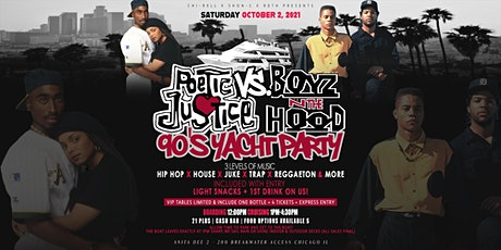 Poetic Justice VS Boyz-N-The-Hood #90s Yacht Party (Chicago) tickets