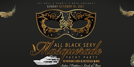 All Black Sexy Masquerade Yacht Party Anita Dee 2 (Chicago) tickets