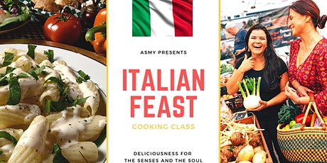 Italian Feast Cooking Class: A Trip To Eataly tickets