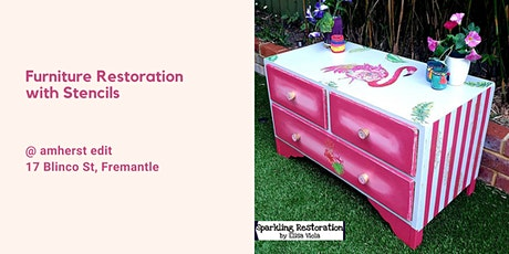 Furniture Restoration with Stencilling and Chalk Painting Workshop tickets