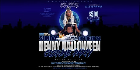 Henny Halloween Yacht Party Anita Dee 2 (Chicago) tickets