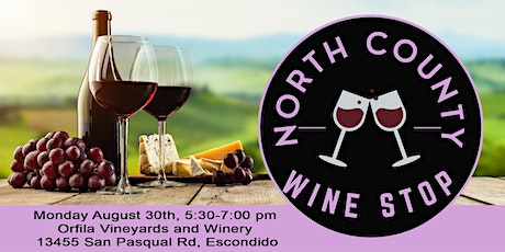 North County Wine Stop - Business Networking 4th Monday September tickets