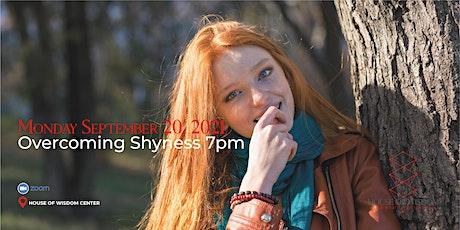 Overcoming Shyness tickets
