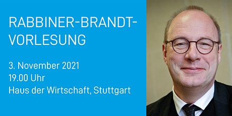 Rabbiner-Brandt-Vorlesung 2021 Tickets