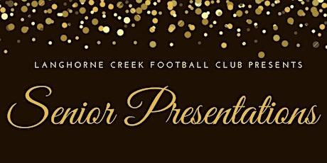 LCFC Senior Presentations tickets
