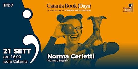 Presentazione libro: Norma Cerletti biglietti