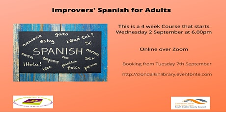 Online Improvers Spanish for Adults tickets