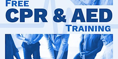 Free CPR/AED Training tickets