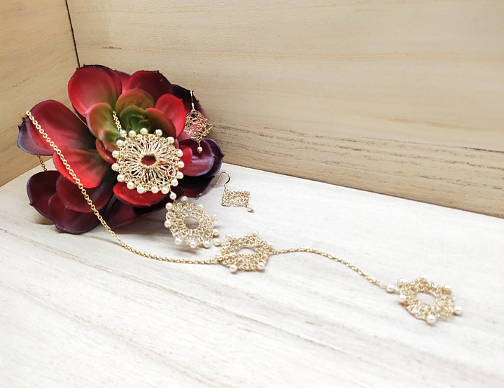 Pro Series: Jewellery Design (Bead Crochet)   library@orchard image