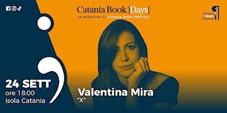 Presentazione libro: Valentina Mira biglietti