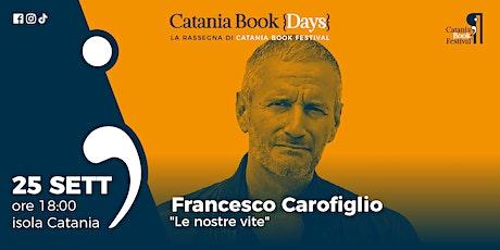 Presentazione libro: Francesco Carofiglio biglietti