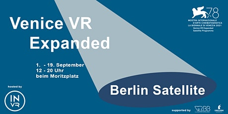 78th VIFF Venice VR Expanded - Berlin Satellite Programme Tickets