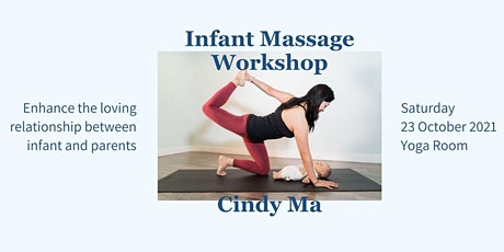 Infant Massage Workshop with Cindy   Oct tickets