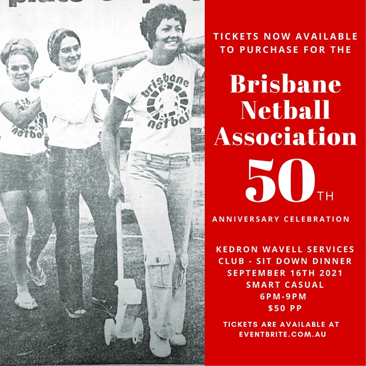 Brisbane Netball Association's 50th Anniversary Celebration image