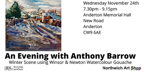 Demonstration fo a Winter Scene in Goucahe with Anthony Barrow tickets