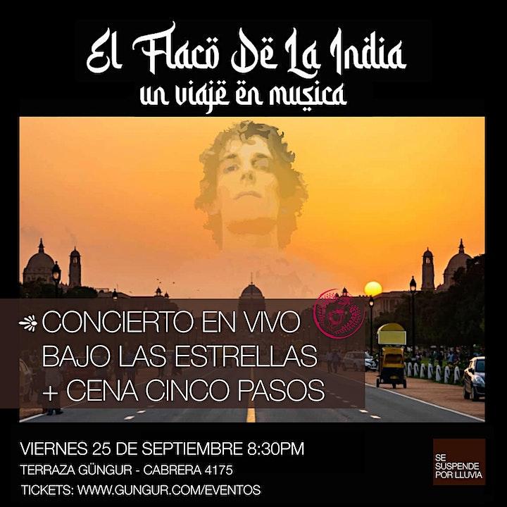 Imagen de EL FLACO DE LA INDIA - Homenaje a Spinetta -
