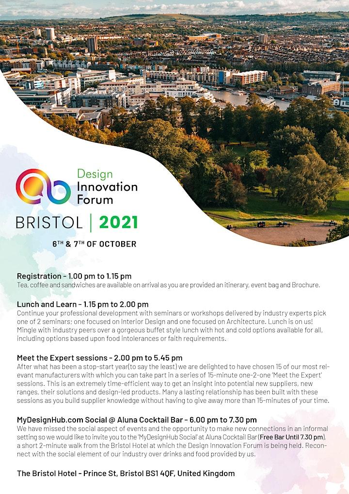 Design Innovation Forum Bristol 2021 image