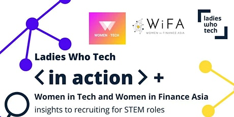 Ladies Who Tech - Insights to Recruiting, Sharing by Interviewers tickets