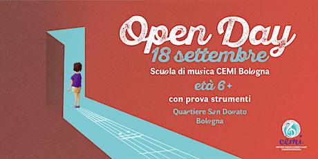 Scuola di musica Cemi / Open Day età 6+ biglietti