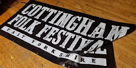 Cottingham Folk Festival 2022 - Early Bird Weekend Ticket tickets