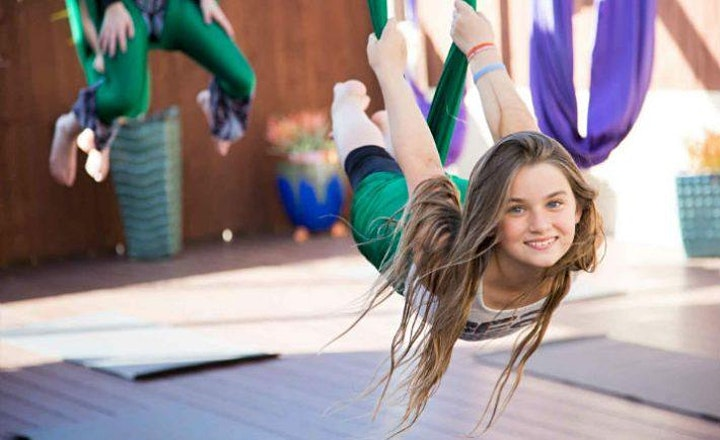 Aerial Yoga - Kids (9+) image
