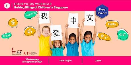 Raising bilingual children tickets