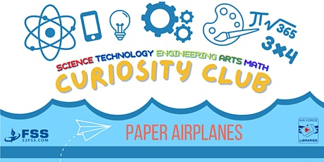 Curiosity Club: Paper Airplanes tickets