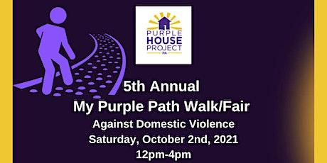 5th Annual My Purple Path Walk/Fair tickets