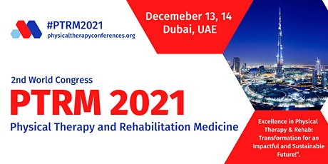 2nd World Congress on Physical Therapy and Rehabilitation Medicine tickets