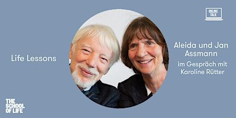 Life Lessons: Aleida und Jan Assmann im Gespräch mit Karoline Rütter Tickets