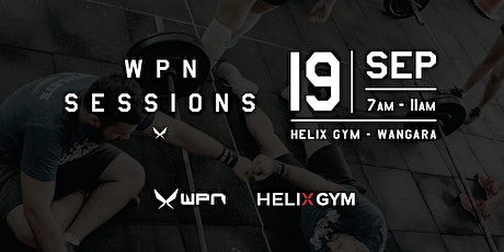 WPN Sessions Perth X  Helix Gym tickets
