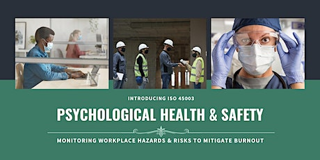 ISO 45003 Overview: Psychological Health & Safety tickets
