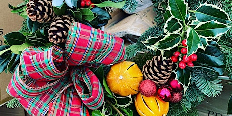 Christmas Holly Wreath Workshop at The Oulton Institute tickets