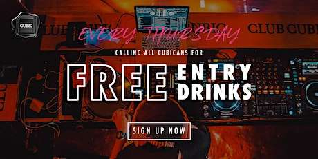 """""""Every Thur""""  Free Entry + Drinks before 12:30AM tickets"""
