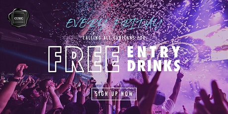 """""""Every Fri""""  Free Entry + Drinks before 12:30AM tickets"""