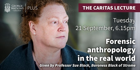 The Caritas Lecture: Forensic Anthropology in the Real World tickets