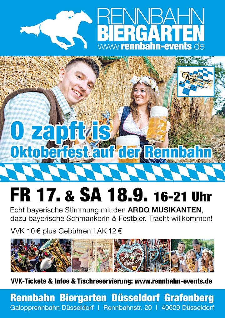O zapft is  |  Oktoberfest auf der Rennbahn: Bild