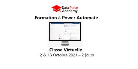 Formation à Power Automate - 2 jours - 12 & 13 Octobre  2021 billets